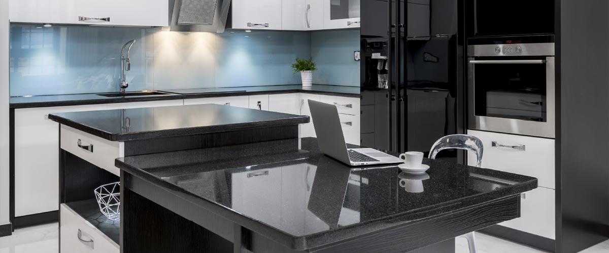 Plan de travail en granit sur mesure pour la cuisine unique ...